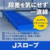 【プラットフォームの搬入、搬出】Jスロープ(バンニングステージ) 製品画像