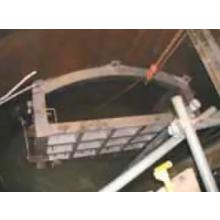 【施工例】推進到達部分をバッフルプラグ止水 製品画像