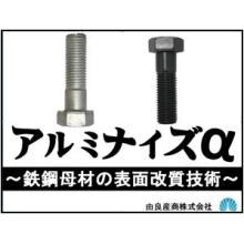 六角ボルト・ナットのかじり・焼付き防止に適したアルミナイズα処理 製品画像