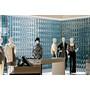装飾性・独創性の高い空間を演出!「装飾ガラス」パーテーション事例 製品画像