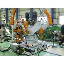 巾木・床レール平板生産ライン 製品画像