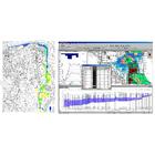 浸水シミュレーションの受託(水理解析・流出解析業務) 製品画像