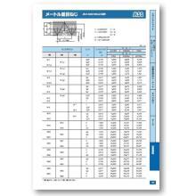 【技術資料】メートル並目ねじ 製品画像