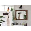 縦も横もOK。美容室や飲食店の化粧室に映える『古材の洗面ミラー』 製品画像
