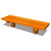 国産木材を活かしたベンチ 【木製ベンチ】 製品画像