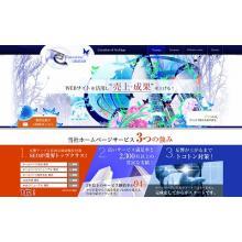 ホームページ制作及びサイトフルリニューアルパッケージ 製品画像