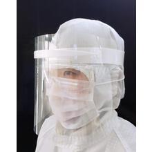 飛沫付着や吸引による感染リスクを低減「フェイスガード」 製品画像