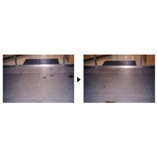 【スペースショット導入事例】バーナー仕上げの御影石 製品画像