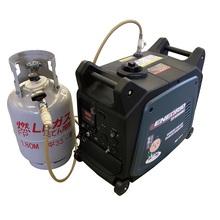 BCP対策向け!LPガス可搬型発電機EP3200iWE 製品画像