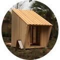 多目的木製ハウス「やすら木Kinoco」 製品画像