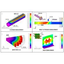 解析事例配布!初心者でもできる誘導加熱解析ソフトウェア 製品画像