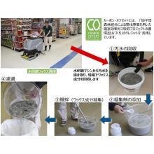 床ワックスリサイクルサービス ワクスル(R)グリーンクリーニング 製品画像