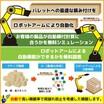 パレットへの適切な積み付けをロボットアームにより自動化 製品画像