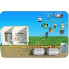 途上国向けトイレシステム バイオガスシステム ※地下水汚染防止 製品画像