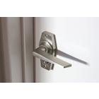 ノブ・取っ手 ドアにシャープなアイコンを『ヘキサレバーハンドル』 製品画像