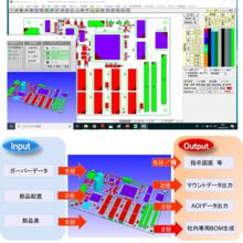 部品実装データ作成支援システム『PC-MountCAM』 製品画像