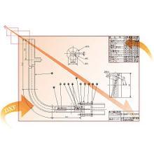 デモ版無料DL 図面作成支援ソフト CAD-COMPO4  製品画像