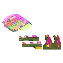 【解析事例】デフロスタ形状の最適化 製品画像