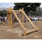 木製遊具「アスレチック遊具」 製品画像