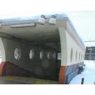遠赤外線スポット融雪システム