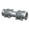 ベローズ型伸縮管継手『RD 補強リング付 複式(高圧用)』 製品画像