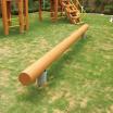 木製遊具 ゆらゆら円木 W-052 製品画像