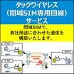 タックワイヤレス(閉域SIM専用回線)サービス 製品画像