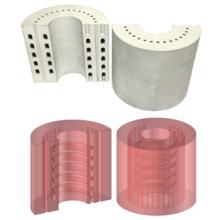 内部管路(ヒート&クール機構)構造 製品画像