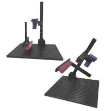 カメラ照明取付、調整機構標準装備ステージ(産業用カメラスタンド) 製品画像