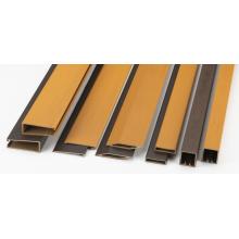 色調4色 木粉入り硬質樹脂押出形材 製品画像