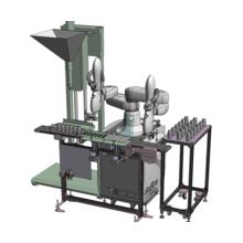 既存設備を活用したロボット導入のご提案(自動充填蓋じめシステム) 製品画像