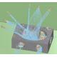 【R-FLOW解析事例】ジェット水流による切粉洗浄過程混相流解析 製品画像