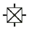 鋳物小窓グリル / SW0203 製品画像