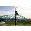 【蓄電システム構成例】ダムや河川の水位計、観測カメラ用電源確保 製品画像
