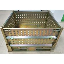 【完全自社設計!高強度と安価を実現した汎用折畳ボックスパレット】 製品画像