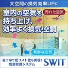 大空間を新鮮で心地よい空気で満たす成層空調システム『SWIT』 製品画像