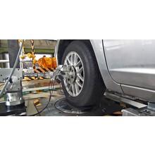 車両基礎特性測定装置(K&Cテスター) 受託試験 製品画像