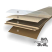 木質系フローリング『ペルゴラミネートフロア』 製品画像