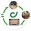 コンクリート型枠廃材を循環型資材にする「型枠リユースシステム」 製品画像