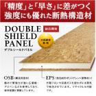 木質断熱複合パネル「ダブルシールドパネル(DSP)」 製品画像