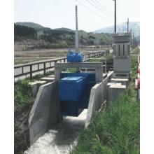 マイクロ水力発電装置搭載型ゲート『ナビックゲート』 製品画像