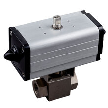 自動ボールバルブ|空圧複作動式高圧『BKH/DANシリーズ』 製品画像