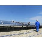 太陽光発電所 太陽光モジュールの洗浄サービス 製品画像