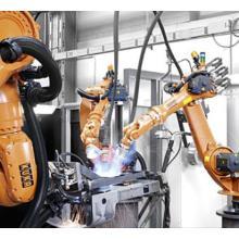 アーク溶接向け高精度・高軌跡精度ロボット&アーク溶接電源 製品画像