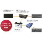 太陽光発電システム『オフグリッド(独立型)』 製品画像