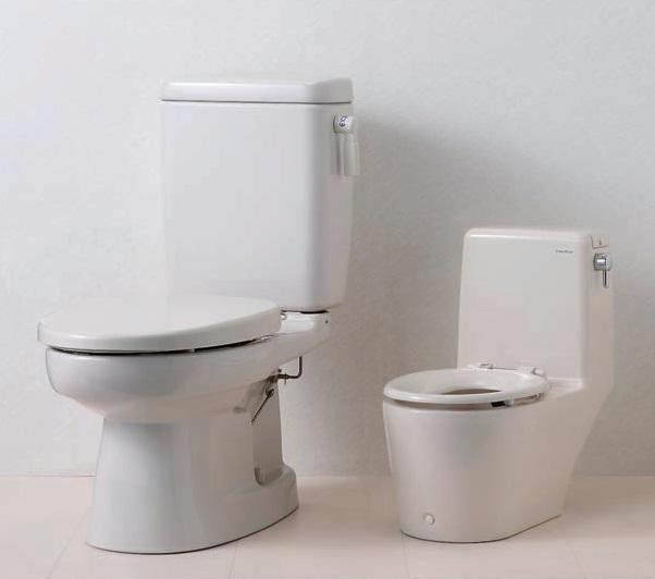 トイレ 水洗 流せるポータくん|水洗式ポータブルトイレ|株式会社アムが開発した、お部屋に排泄物を残さないベッドサイド水洗トイレです。