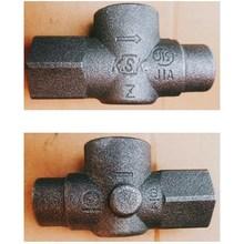 【ガス設備業界向け 製品事例】機器接続ガス栓 製品画像