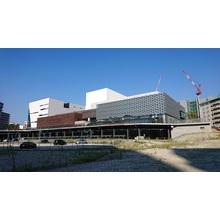 木繊セメント板採用実績『箕面市立文化芸術劇場』 製品画像