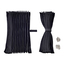 仮眠カーテン アコーディオン 2枚組 巾2,400mm 製品画像