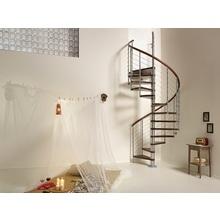 らせん階段『RingTube』(リングチューブ)木製・屋内用 製品画像